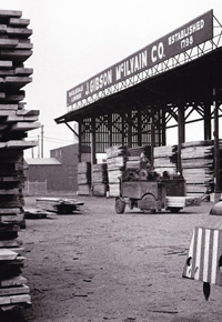 1962 Lumberyard in Baltimore