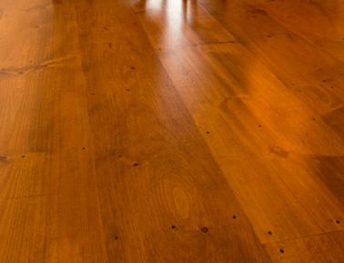 20 inch wide Pine flooring