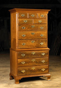 Tall Walnut dresser