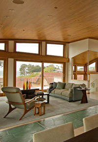 Teak windows & trim