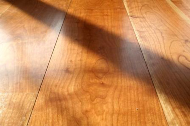 Wide Cherry flooring